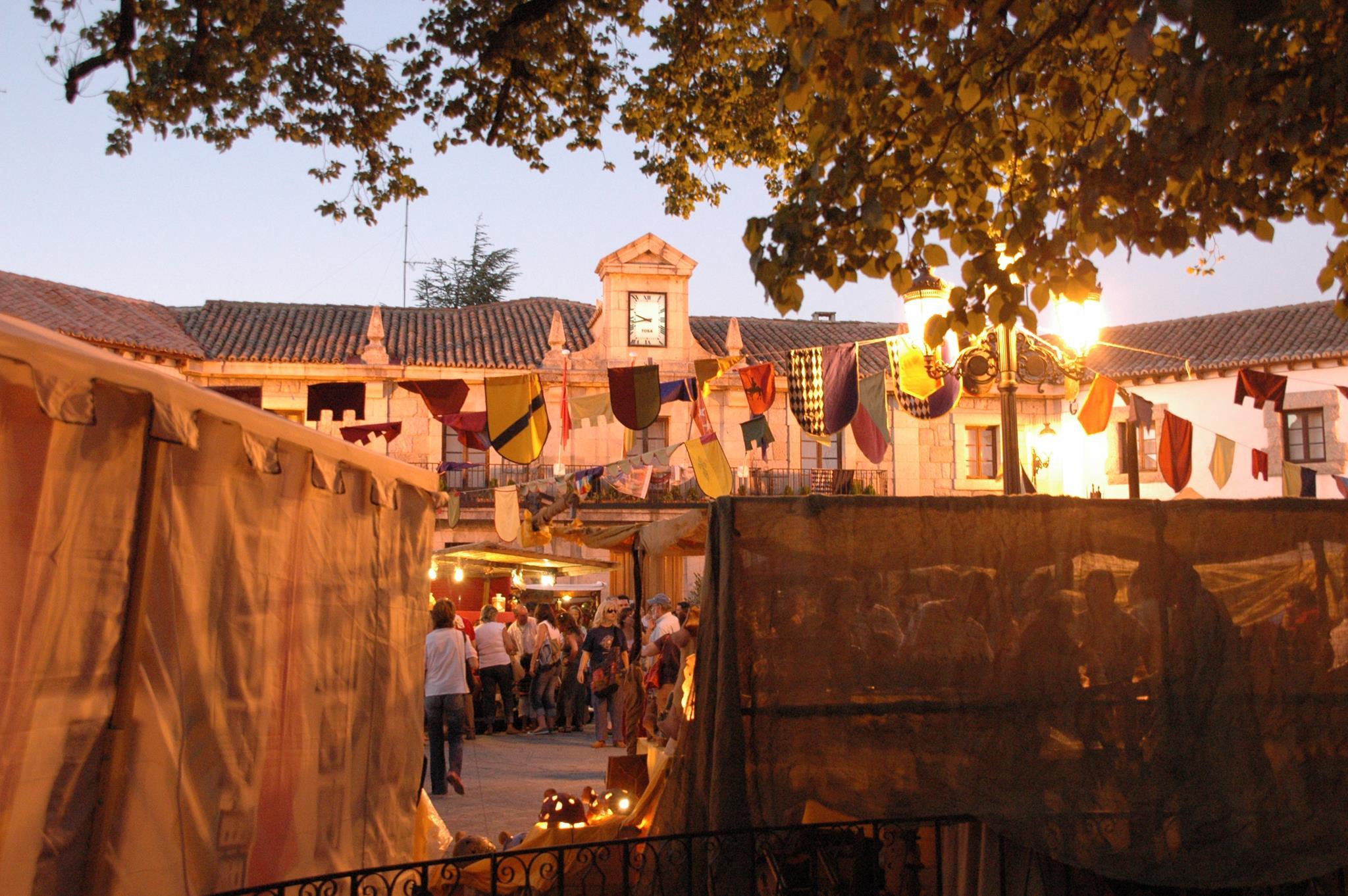 Mercado medieval en Guadarrama (1) (Landing)