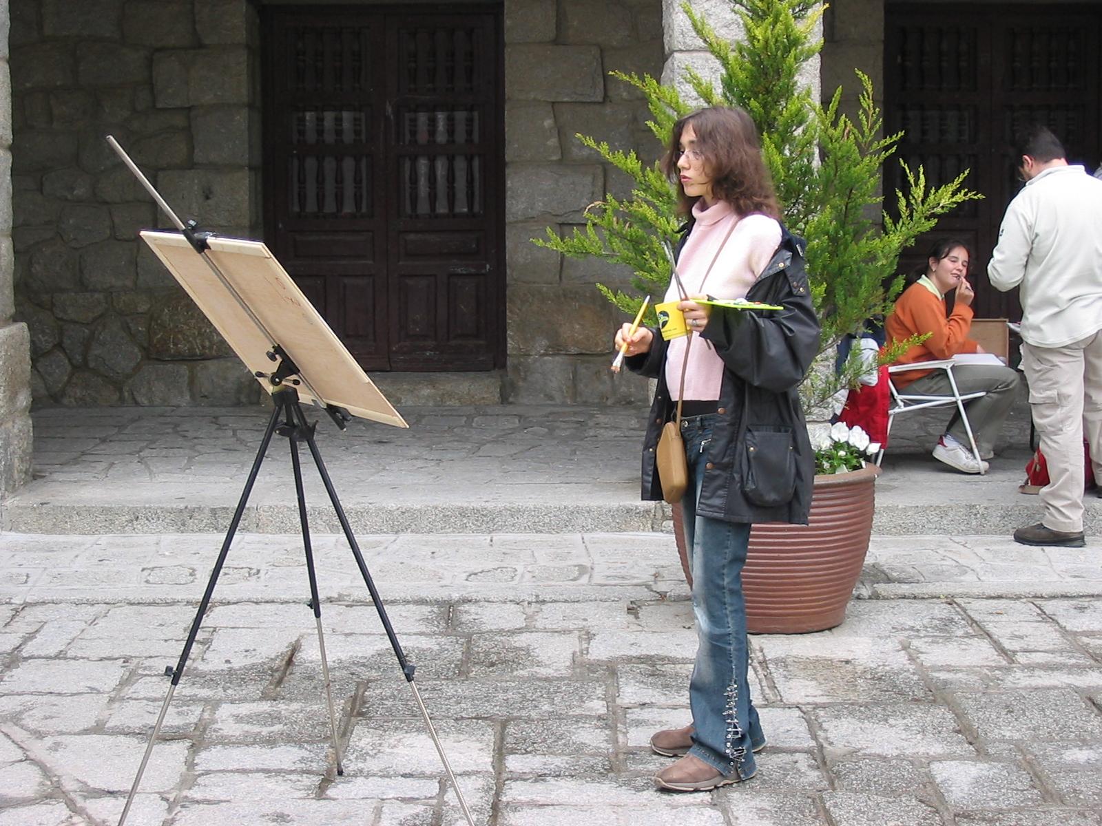 pintura rapida en la calle